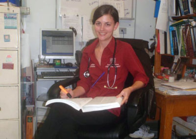 15-Dr-Sheridan-researching-one-of-her-cases