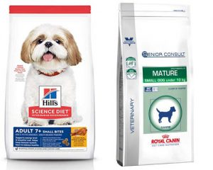Mature dog food